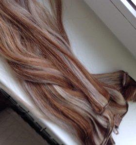 Волосы для наращивания словянка