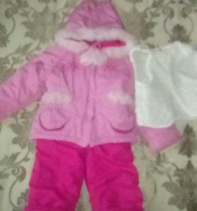 Зимний костюм 1-3 года