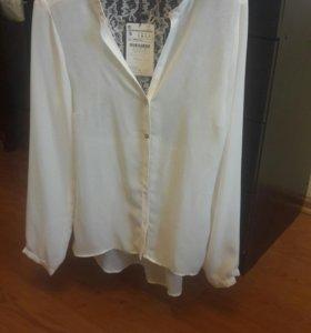 Блузка рубашка новая Zara