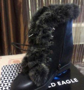 Новые,зимние ботинки