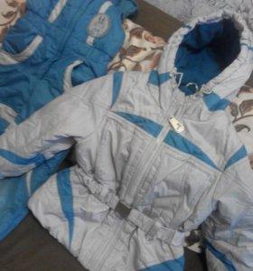 Куртка  зимняя 5-7 лет.