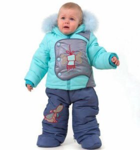 Комбинезон куртка и штаны зима