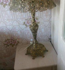 Светильник бронзовый