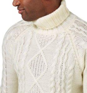Аранский свитер из овечьей шерсти