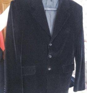 Пиджак мужской вельветовый мелкий рубчик р. 48-50