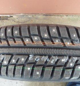 Зимние шины новые на литых дисках