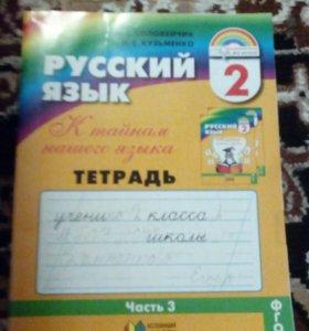 Русский язык 2 класс.