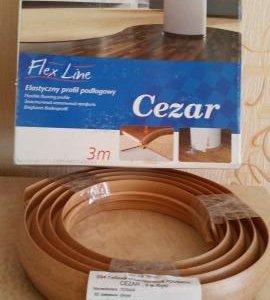 Гибкий стыковочный профиль Cesar,3м цвет(бук)