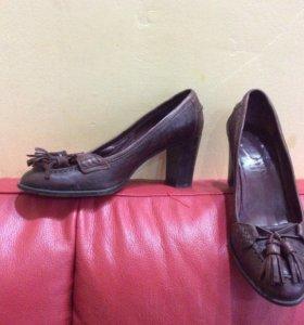 Туфли кожаные Италия Laurel 36 размер