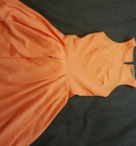 платье из bershka
