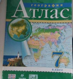 Атлас география 2014 год 7 класс