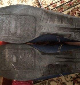 Ботинки для беговых лыж spine cross