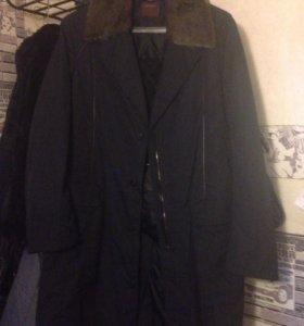 Стильное мужское пальто, в отличном сост.BOS BISON