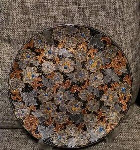 Тарелка декорированная