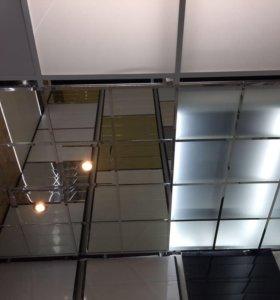 Потолок с подвесной системой