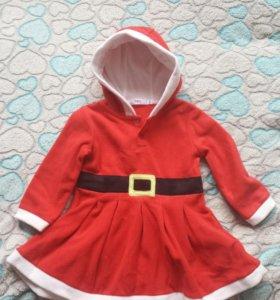Новогоднее платье 🎅 р. 86