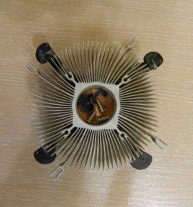 Кулер и радиаторы охлаждения на процессор
