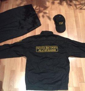 S M роба и куртка форма охрана гбр костюм.