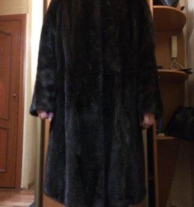 Шуба норковая 50 размер