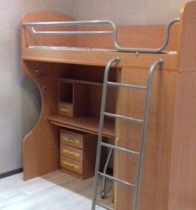Набор детской корпусной мебели 3 в1.