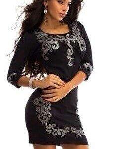 Платье женское чёрное Новое