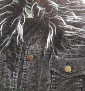 Пальто осенне-зимнее вельветовое