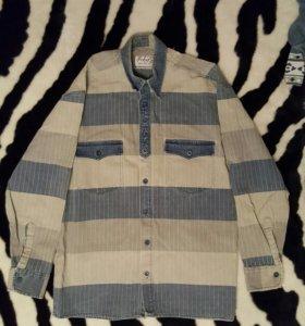 Рубашка джинсовая 48-50