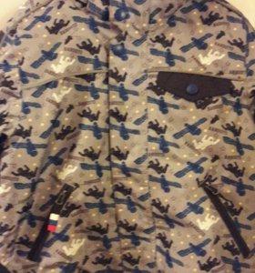 Куртка зимняя р 116