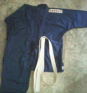 Продам кимоно цвет: синий , размер: 3