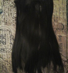 Волосы на заколках из терма волокна