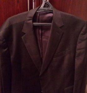 Пиджак черный р. 54