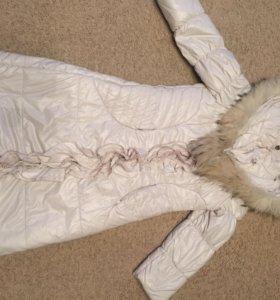Зимний  детский пуховик(новый)