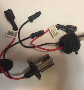 Лампы ксенон, провода и переходники
