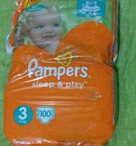 Pampers sleep & play