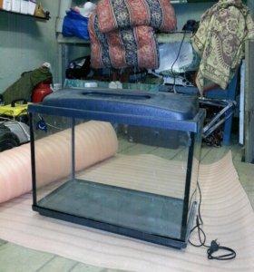 Продается аквариум на 40-50 литров