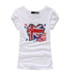 Женская футболка MOSCHINO