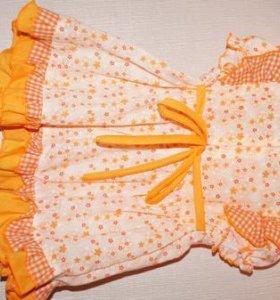 Платье летнее р-р 74