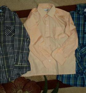 Рубашки на 8 -10 лет