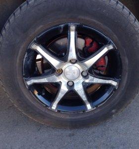 4 колеса р13