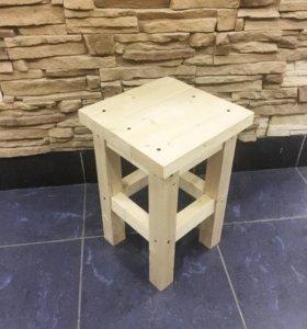 Новый эко табурет (стул) из натурального дерева