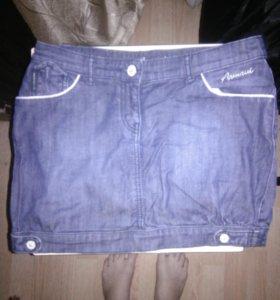 Джинсовая юбка от Armani