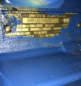 электродвигатель 11квт 1450об/мин лапы