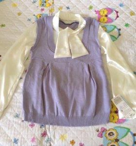 Блузка 2 в 1 для беременных