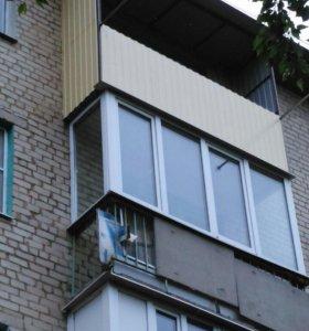 Навесы, балконы,металлокаркас любой сложности