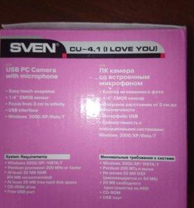 Вебкамера Sven cu 4.1 новая