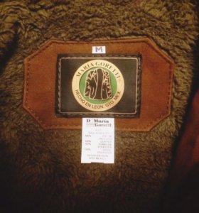 Кожаная куртка зимняя мужская