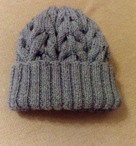 Объёмная шапка Новая