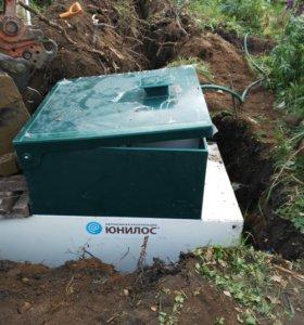 Монтаж и установка автономной канализации