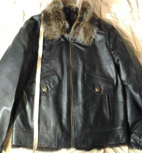 Куртка мужская. кожа натуральная