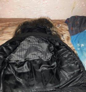 Куртка зимняя с подстёжкой.